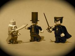 LEGO steampunk minifigs
