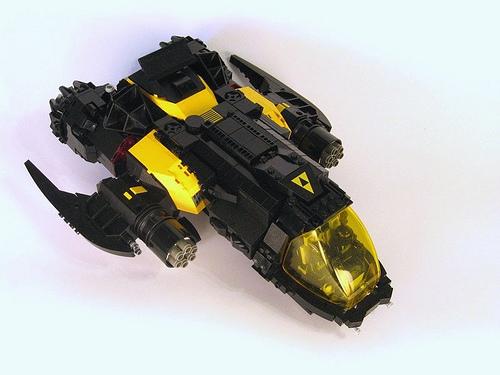 Neo-Blacktron Heavy Fighter