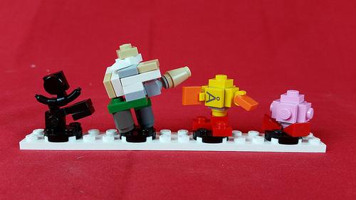 Mini LEGO Amiibo