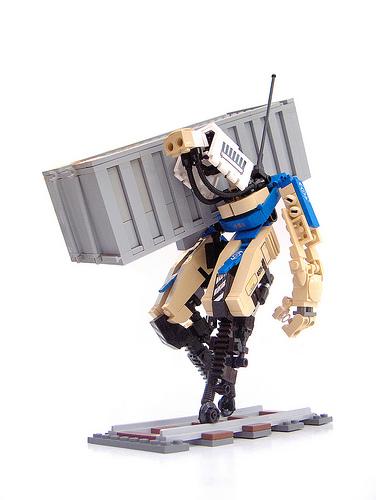 LEGO train mecha