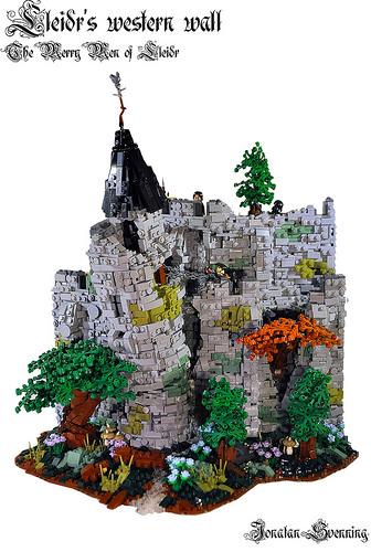Lleidr's western wall