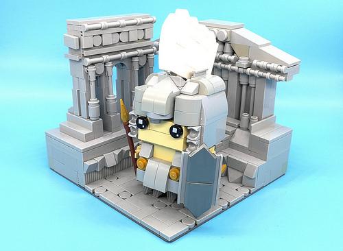 Brickheadz Julius Caesar 「VENI VIDI VICI」