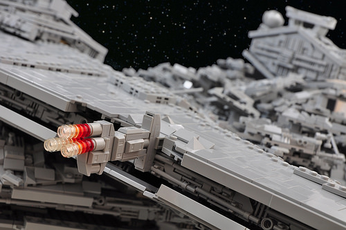 Star Wars: Rogue One - Star Destroyer Crash