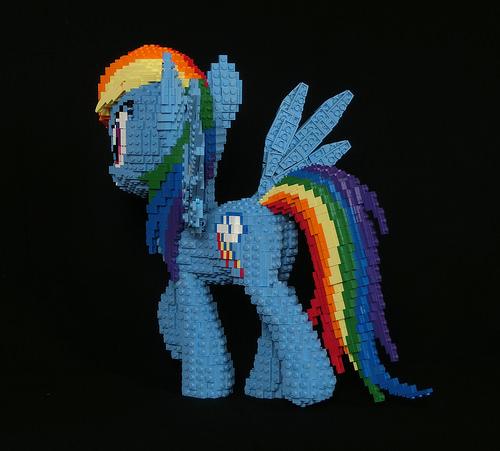 LEGO Rainbow Dash