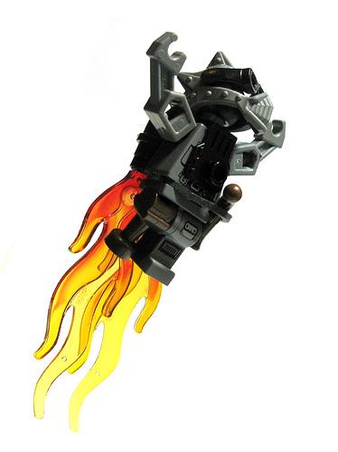 LEGO Steampunk robot jetpack