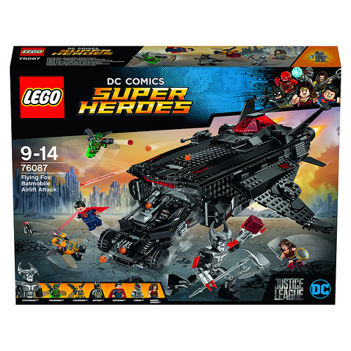 76087 Flying Fox: Batmobile Airlift Attack