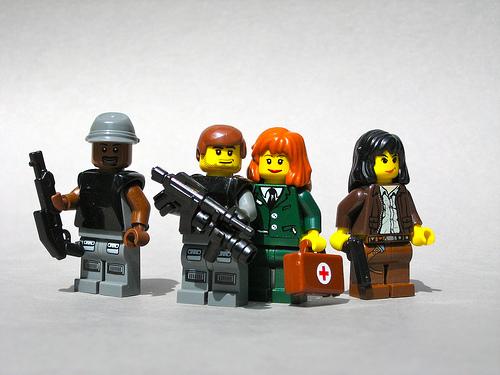 LEGO Terminator Resistance minifigs
