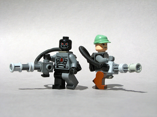 LEGO T-600 Terminator minifigs
