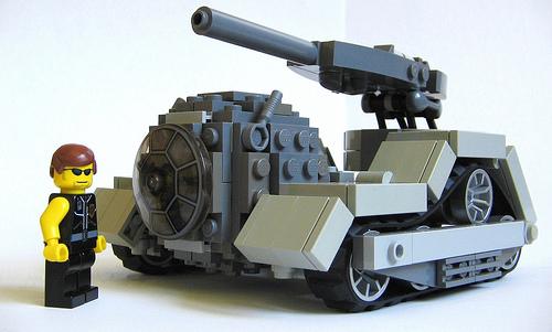 LEGO Tank Sphere