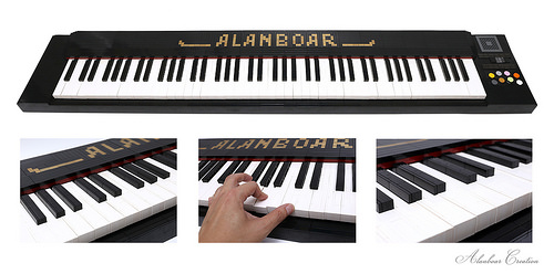 Playable Life-size 88 Key LEGO Piano Keyboard | The Brothers