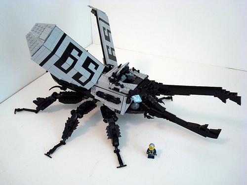 LEGO Rhinoceros Beetle Battle Bug