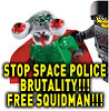 LEGO Space Police III Free Squidman!