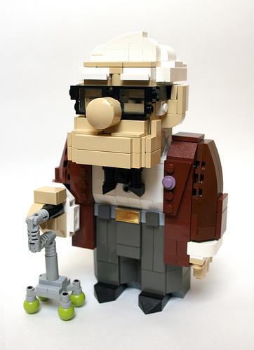 LEGO Pixar Up Carl Fredricksen
