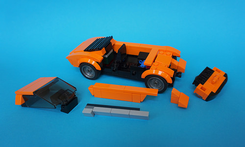 Lego 1971 Lamborghini Miura P400SV - Speed Champions How To 01