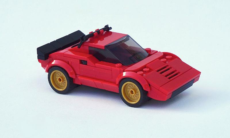 Lego 1974 Lancia Stratos HF Stradale - 01