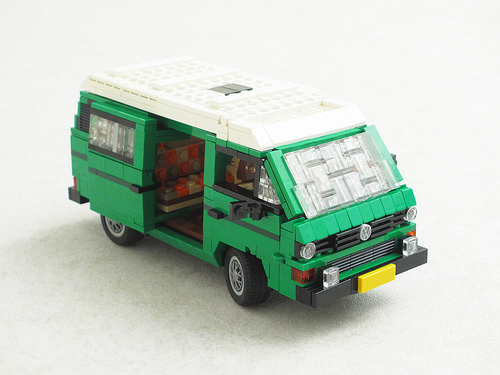 Volkswagen T3 Westfalia camper van