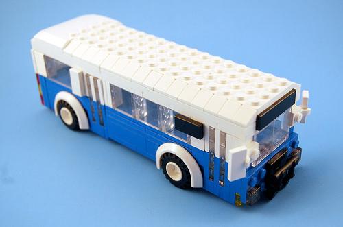 LEGO Sound Transit bus