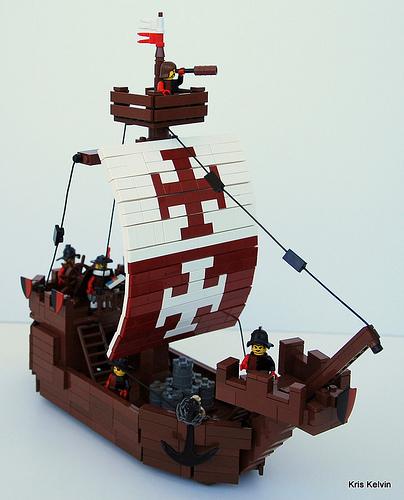 LEGO Trading Ship