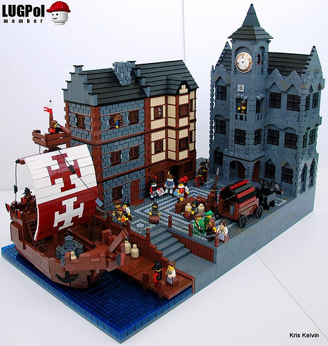 Lego Hanseatic Town