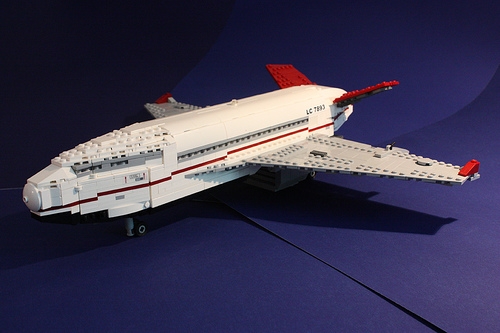 LEGO Boeing space liner