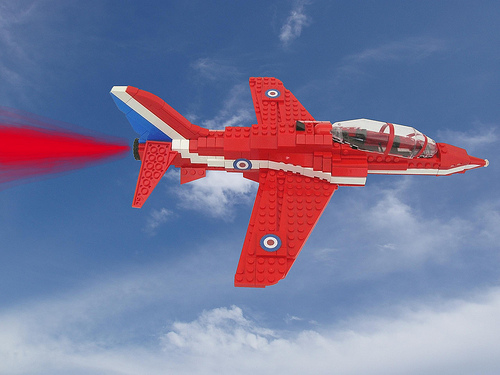 LEGO Red Arrows
