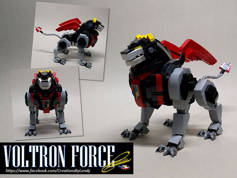 Voltron Force - Black Lion