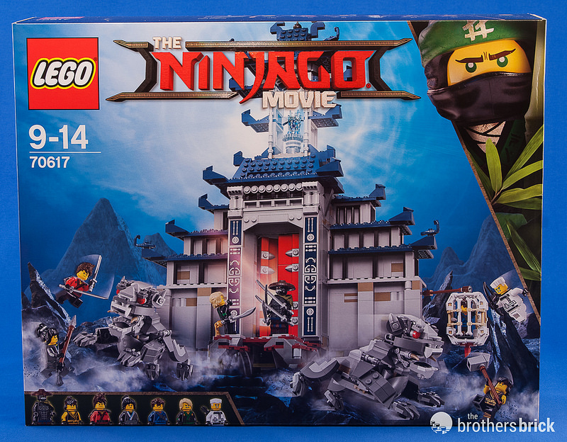 The Lego Ninjago Movies 70617 Temple Of The Ultimate Ultimate
