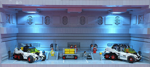 Vehicle Bay by Peter Reid and Jason Briscoe