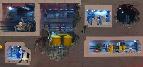 Underground Scene by Gary Davis