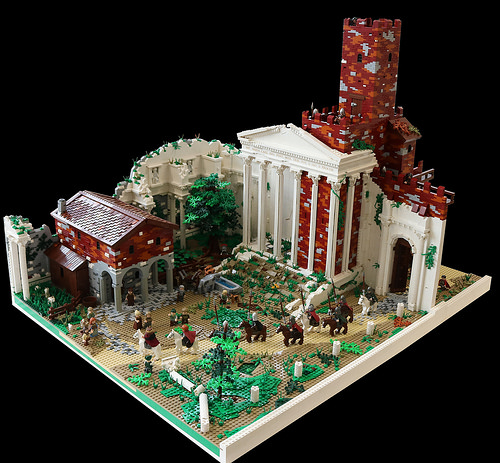 Rome - Forum of Nerva - 962 A.D.