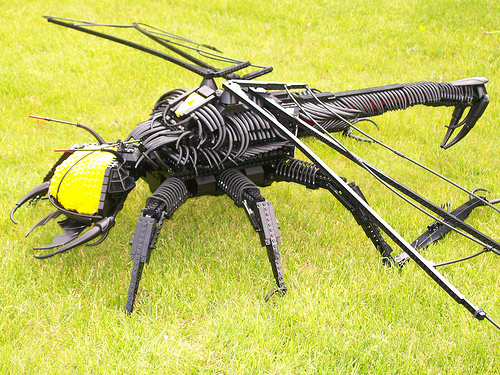 Steve Lockes Insectoid Blacktron