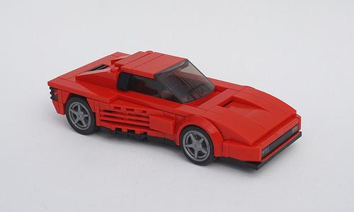 Lego 1984 Ferrari Testarossa 01