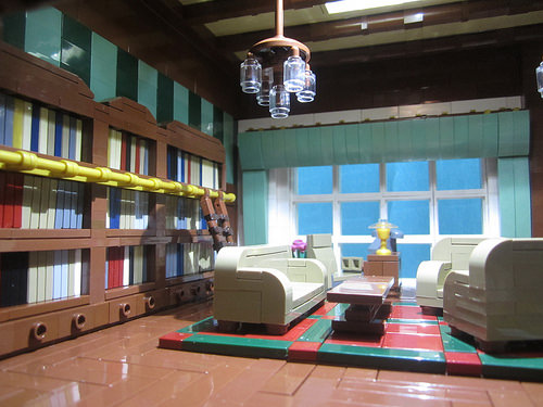 Wayne Manor - Library