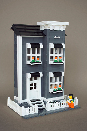 LEGO Halifax townhouse