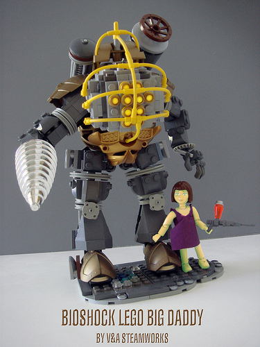 LEGO Bioshock Big Daddy
