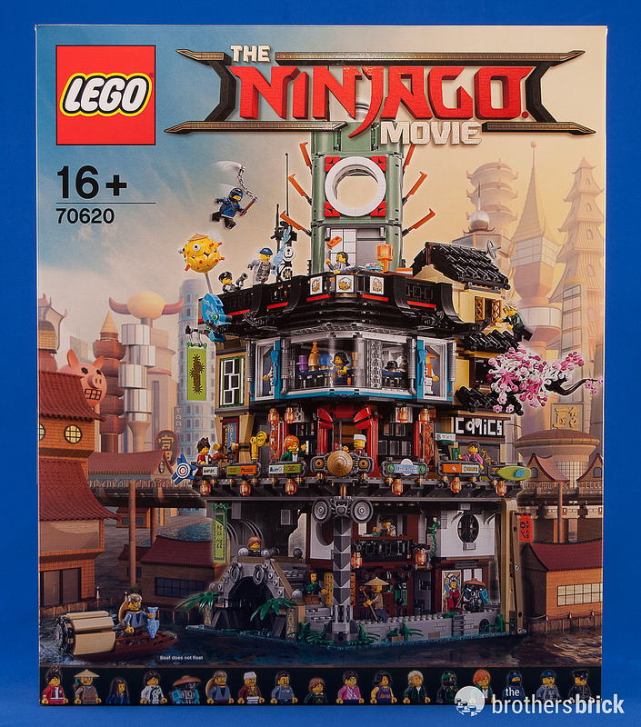 The LEGO Ninjago Movie's largest set: 70620 Ninjago City