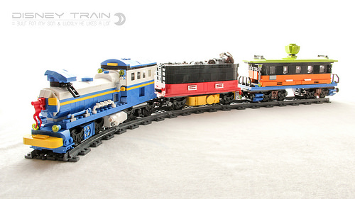 All aboard the Disney Train! | The Brothers Brick | The