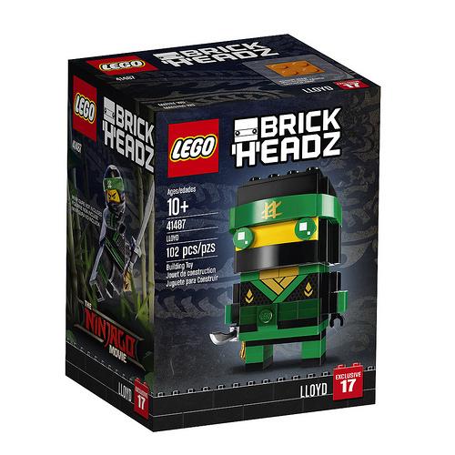 41487 Lloyd LEGO Ninjago Movie BrickHeadz