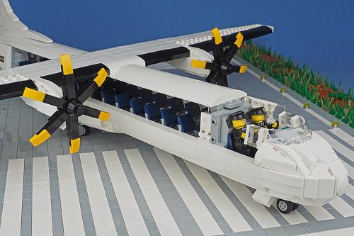 ATR 72 interior