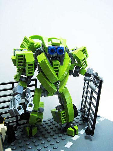 LEGO Transformers Skids