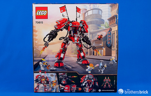 Lego Ninjago Movie 70615 Fire Mech Review The Brothers Brick The Brothers Brick