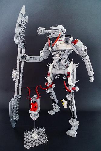 LEGO demon mecha