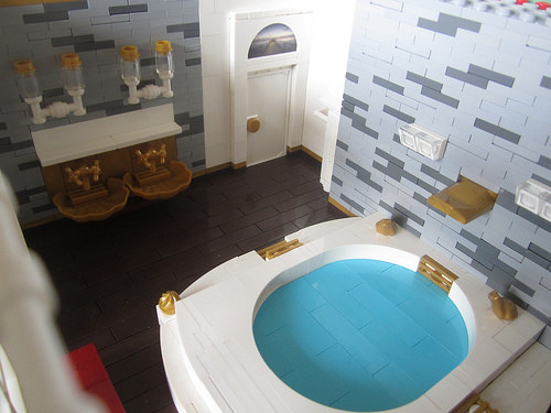 Wayne Manor - Bruce Wayne's Bath room