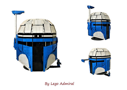 Wearable Lego Jango Fett Helmet