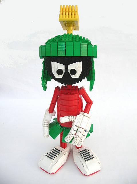 LEGO Marvin the Martian