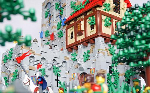 Castle close-up