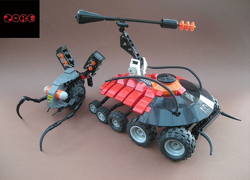 LEGO Zorg trilobite vehicle