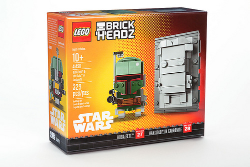 41498 Boba Fett & Han Solo in Carbonite New York Comic Con Exclusive