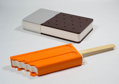 Ice Cream Sandwich and Orange Creamsicle