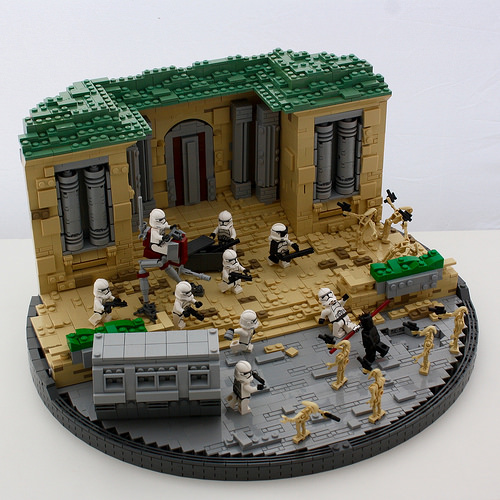 Lego Star Wars Assault on Theed   Battlefront 2